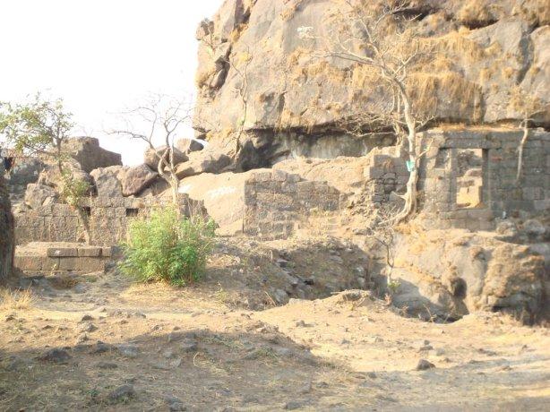 Inside Karnala Fort