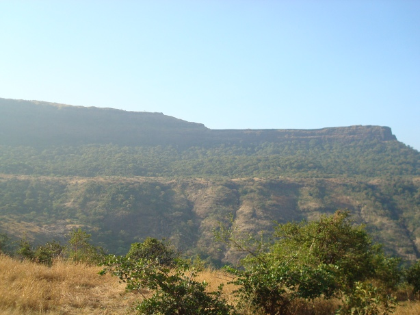 Lohagad from a distance